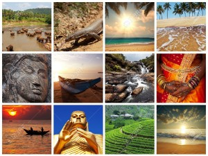 15515140-Sri-Lanka-scene-collages-Stock-Photo